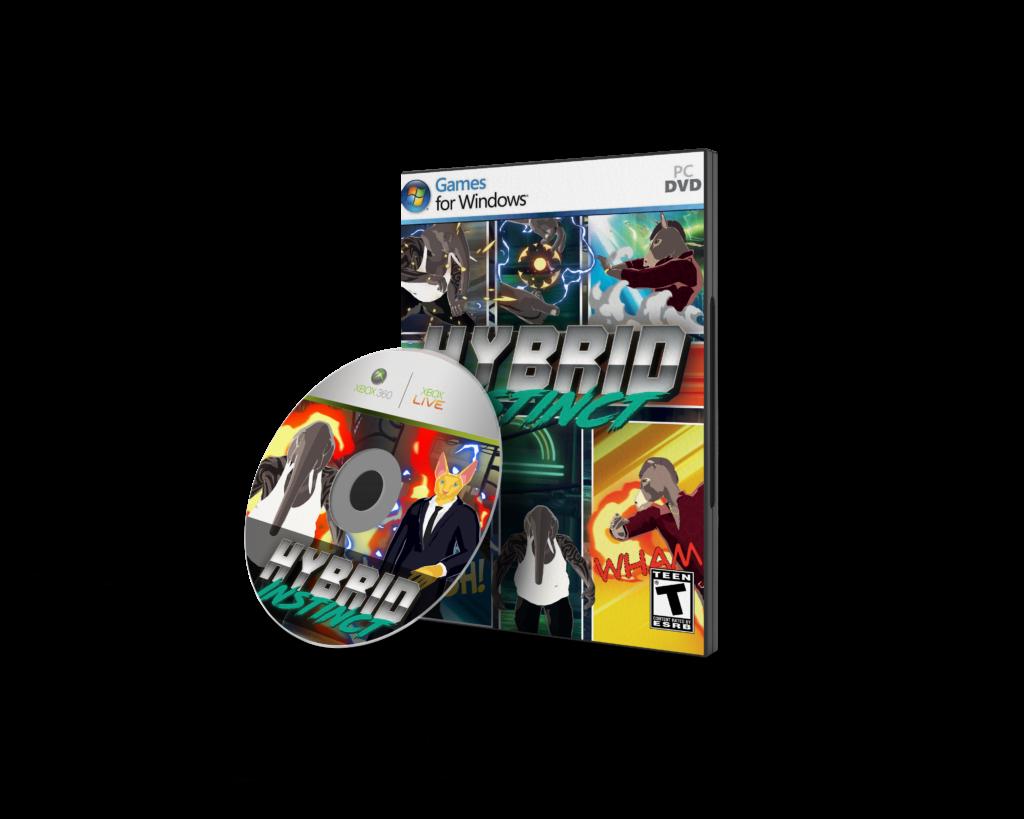 Buy Game Cover Hybrid Instinct