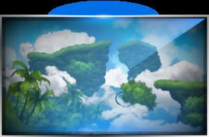 Flying Islands Level Hybrid Instinct